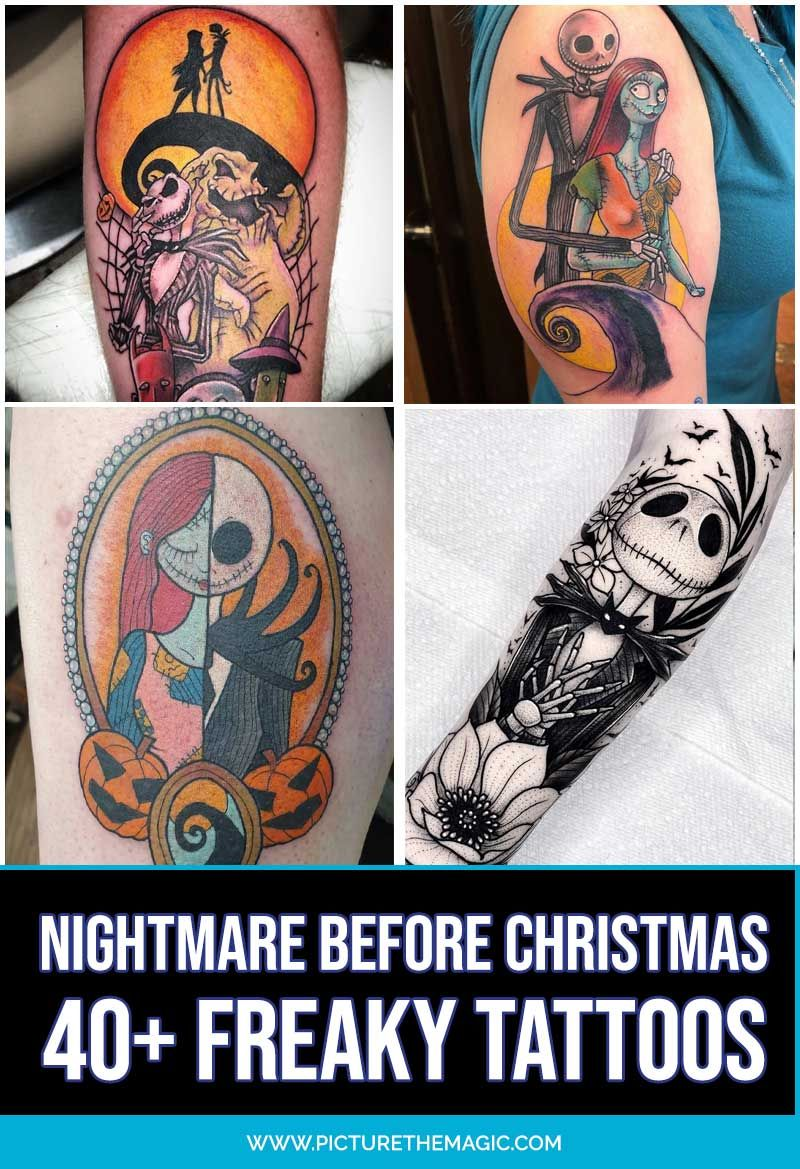 UPDATED 40 Nightmare Before Christmas Tattoos (July 2020