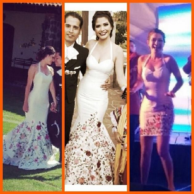 Mexican Wedding Done Right Ana Patricia From Despierta America And Nuestra Belleza Latina