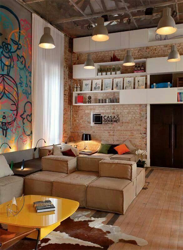 Historically preserved mansion gets eclectic makeover   Déco maison, Deco style industriel, Casa ...
