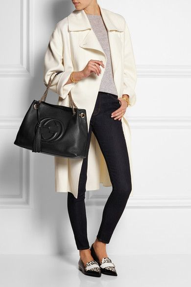 Gucci   Soho medium textured-leather shoulder bag   NET-A-PORTER.COM ... 9a506b1cb9b
