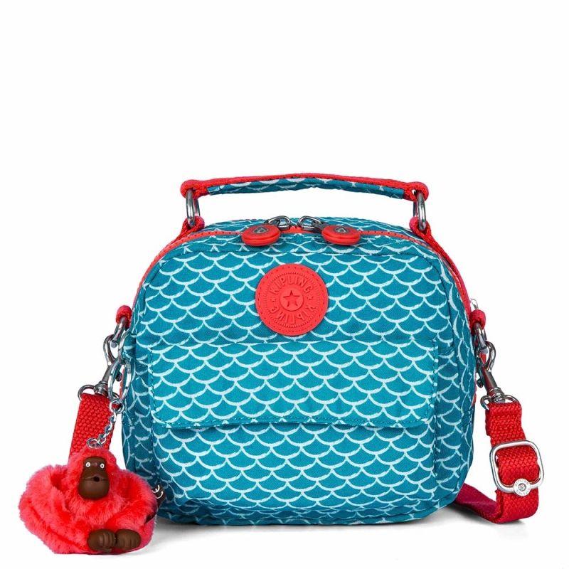 Bolsa De Mao Da Kipling : Mini bolsa de m?o puck azul mermaid kipling bolsas e