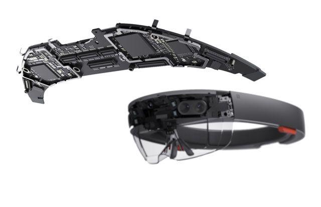 Microsoft HoloLens holographic processing unit