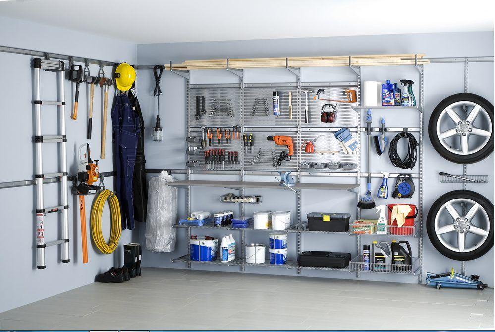 Elfa Garage Storage System In 2019 Workbenches Garage Storage