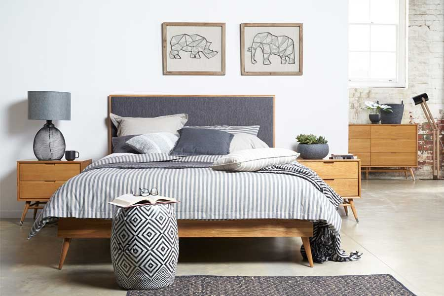 Bedroom Decor Australia betty+queen+size+timber+bed - unfortunately the store is in