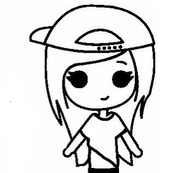 Hipster Chibi | Chibis | Pinterest | Chibi, Drawings and ...