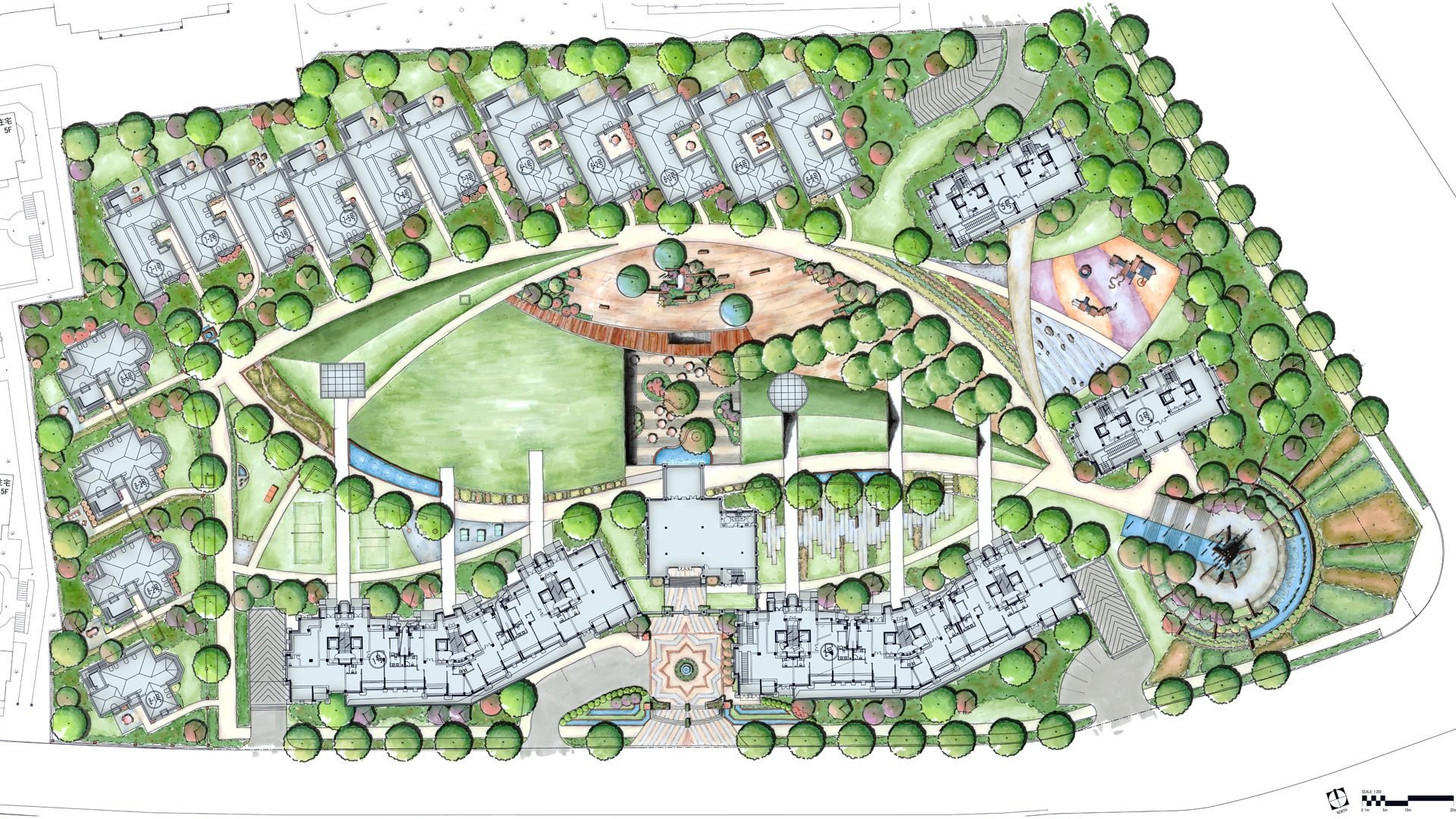 Residential plan szukaj w google projo pomysky for Residential site plan