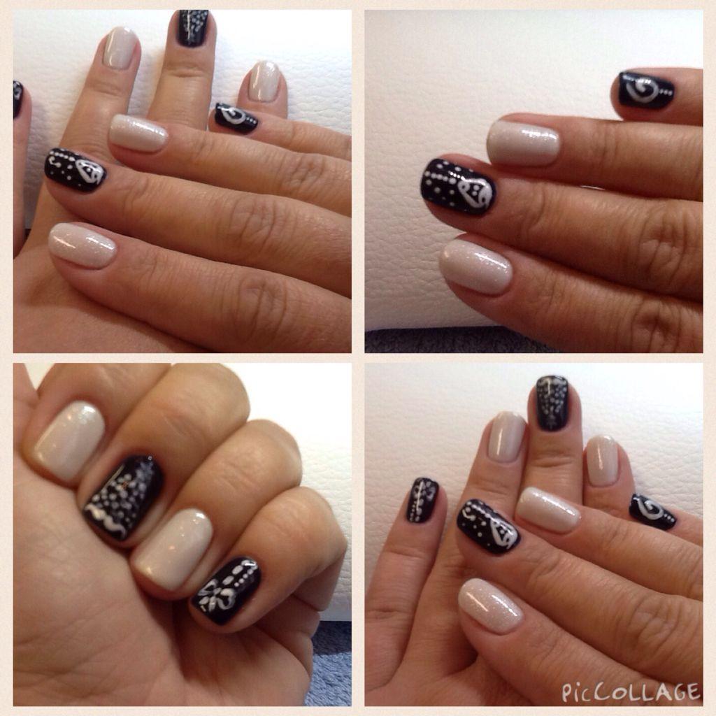 Shellac winter nails