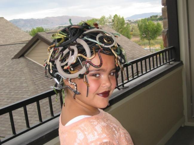homemade medusa costume ideas - Medusa Halloween Costume Kids