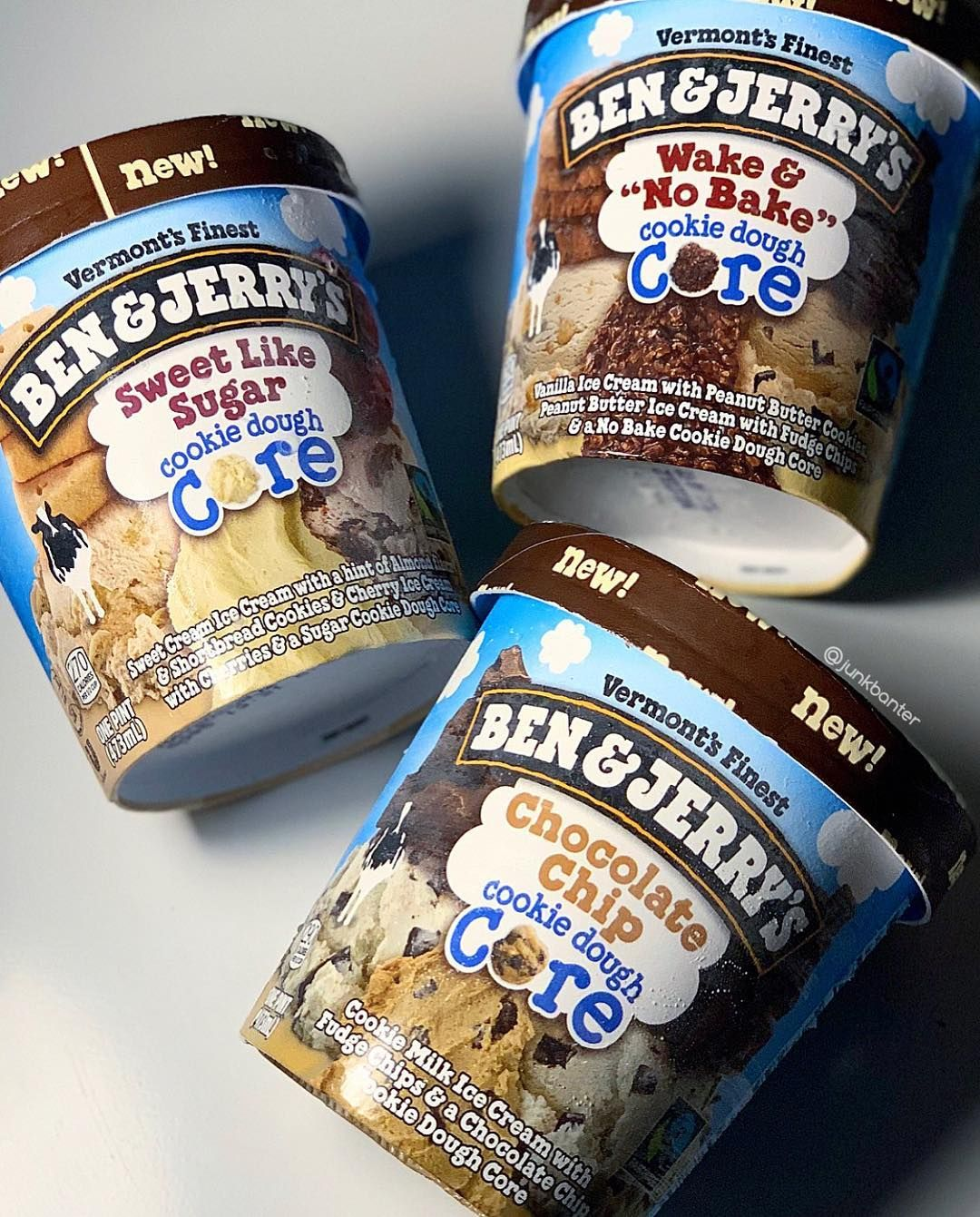 Junkbanter Com Ben Jerry S Has Always Been The Innovator Of Cookie Dough Ice Cream But They Re Really T Super Cookies Cookie Recipes Chewy