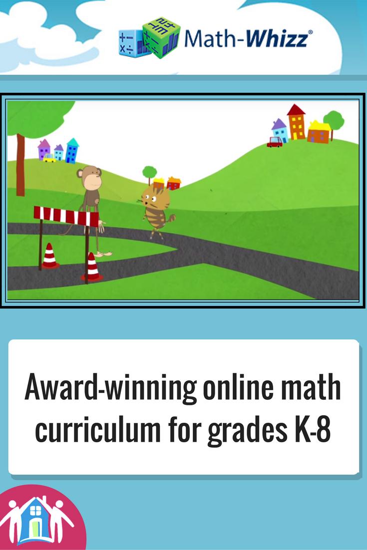 Math-Whizz is an award-winning online math curriculum from Great ...
