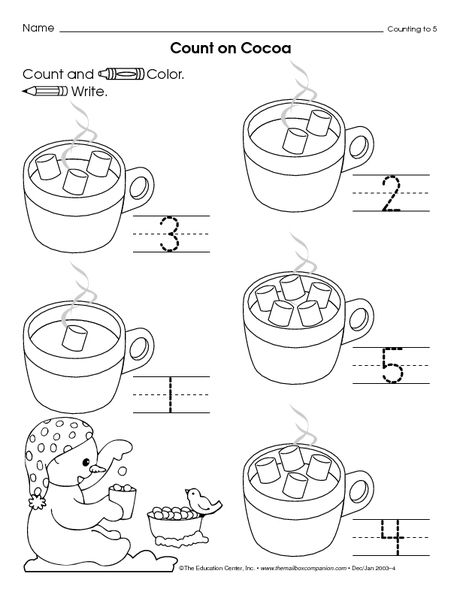 worksheet winter preschool theme preschool math. Black Bedroom Furniture Sets. Home Design Ideas