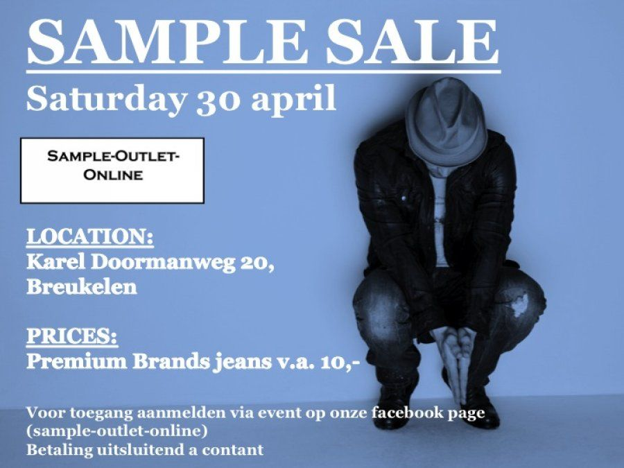 Sample Outlet Online Sample Sale in Breukelen | Online