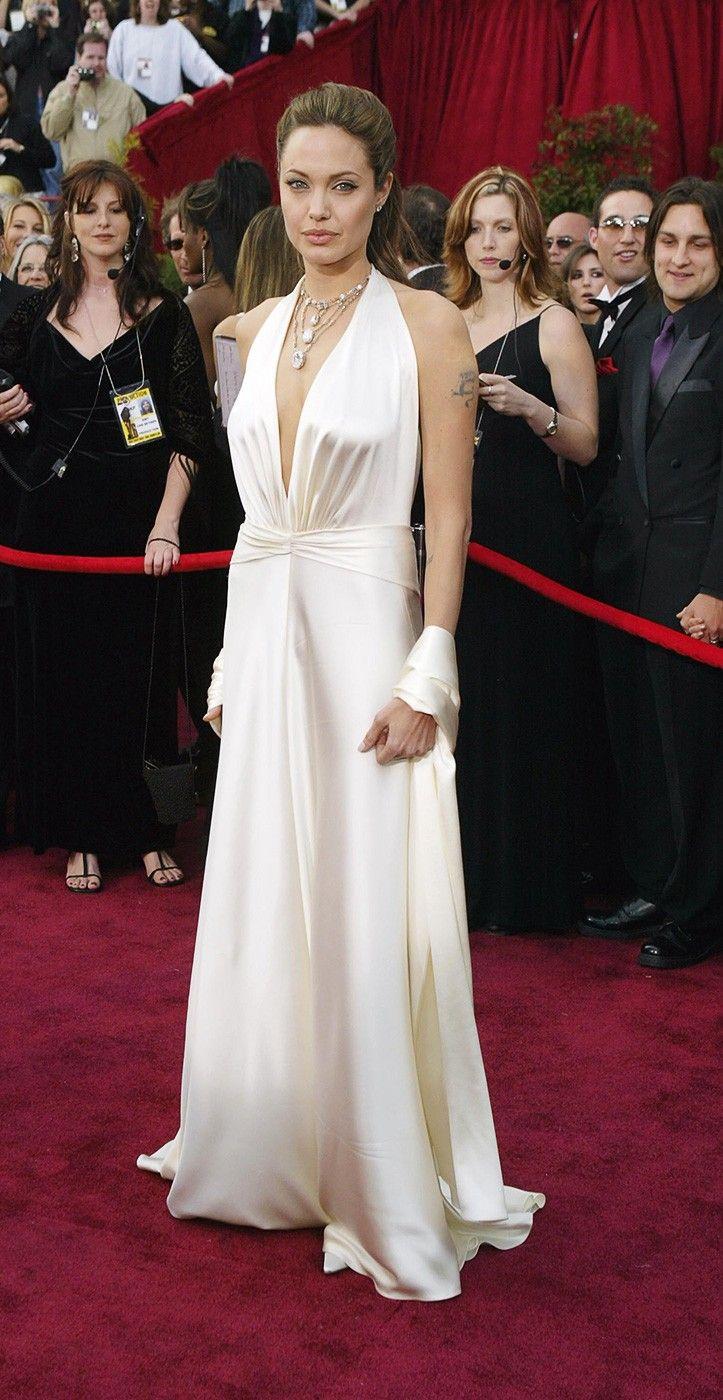 Angelina Jolie's 10 Best Red Carpet Mots