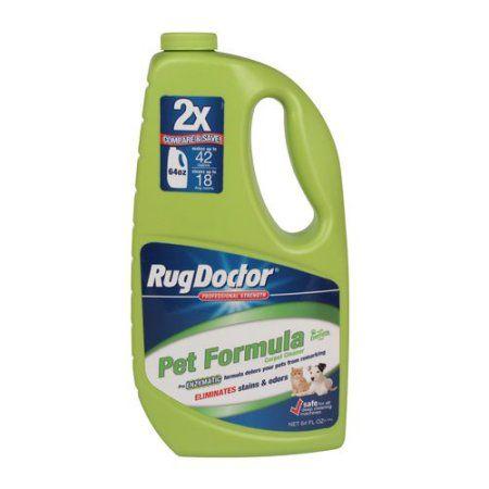 Rug Doctor Pet Formula Carpet Cleaner, 64 fl oz Carpet