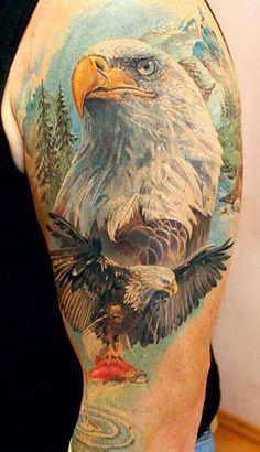Indian Wolf Eagle Tattoos Google Search Eagle Tattoo Bald Eagle Tattoos Tattoos Gallery