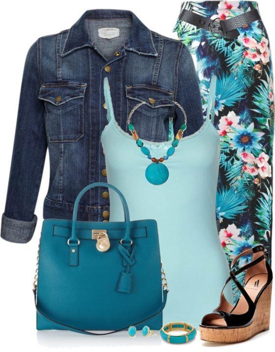 25 lange Rock Outfits, die Sie lieben werden - für Sommer / Frühling / Herbst #springskirtsoutfits