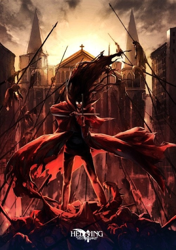 Hellsing Alucard Female Form Readin Bout Water In Wiki Young