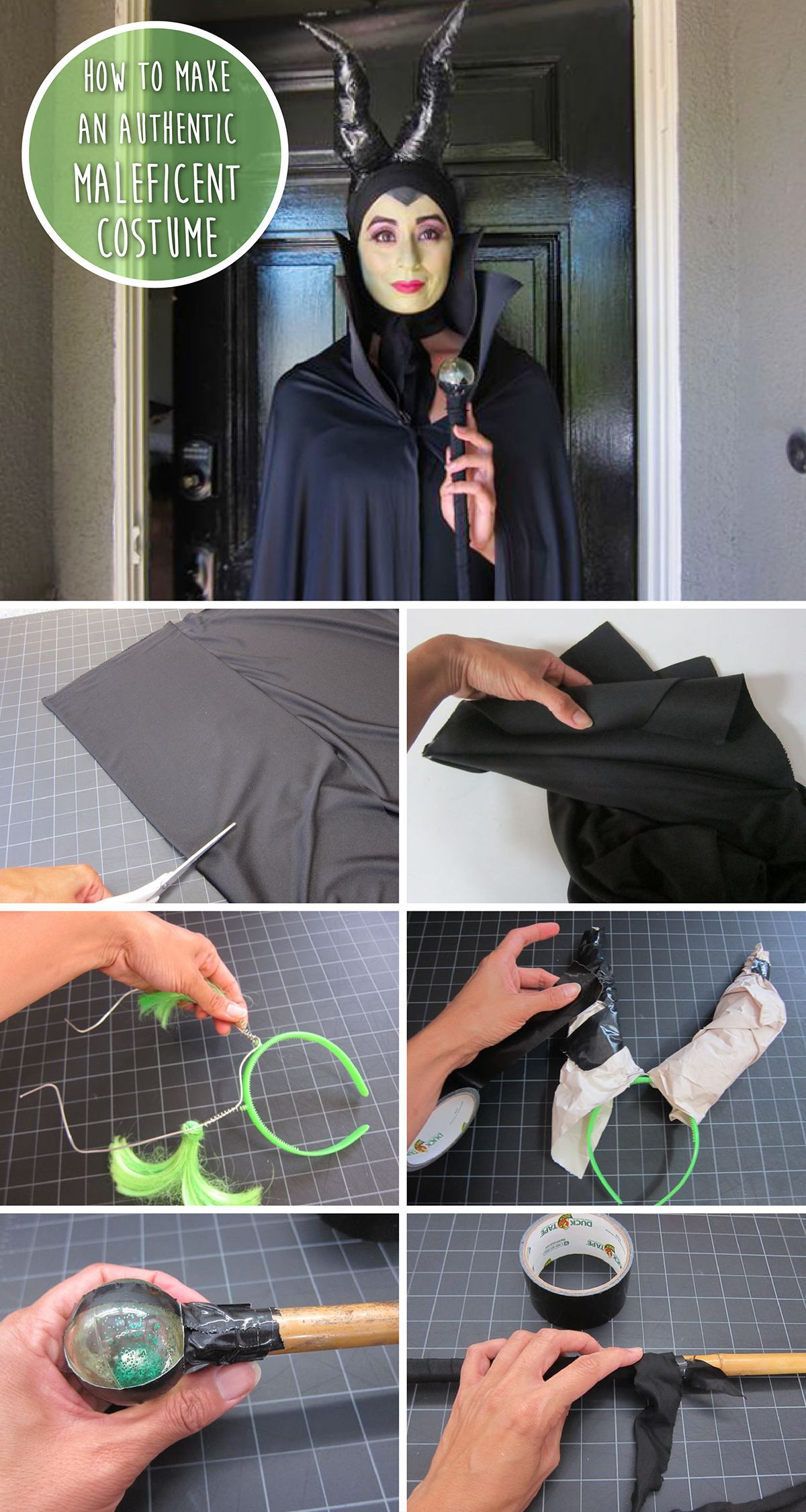 How to Make an Authentic Maleficent Costume   More Maleficent ...