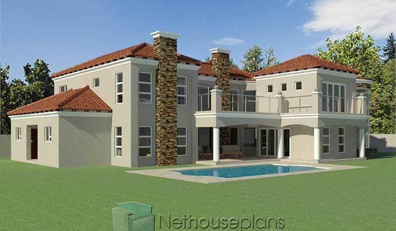 4 Bedroom House Plan South African House Designs Nethouseplansnethouseplans In 2020 Bedroom House Plans House Plans 4 Bedroom House Plans