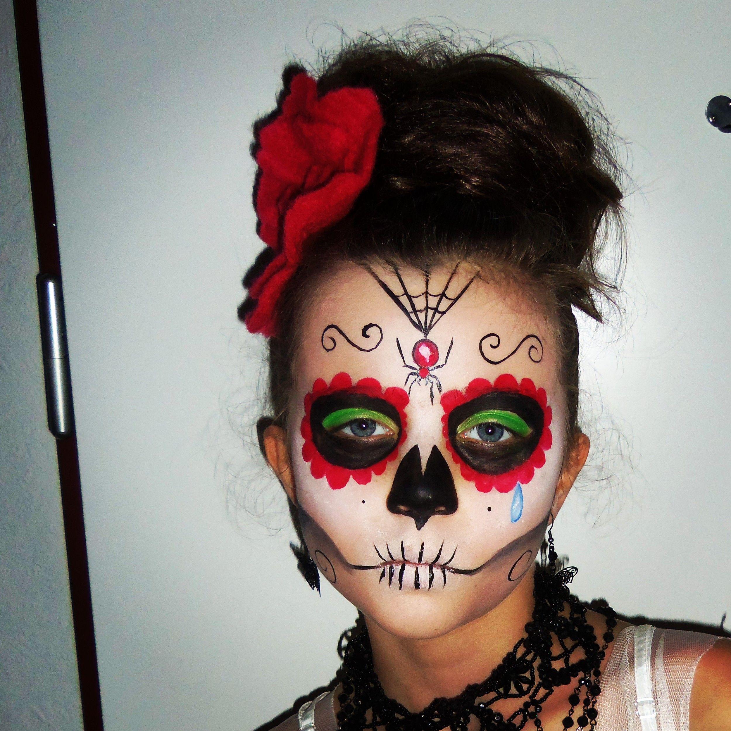 HALLOWEEN 2013 Ma fifille voulait avoir un maquillage
