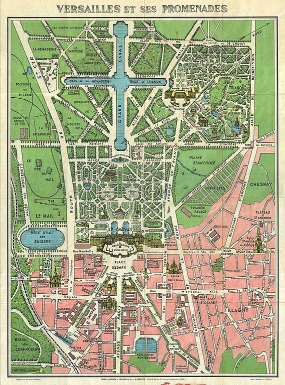 Gardens Of Versailles Plan 3