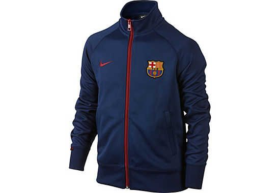 ac7df21238c Nike Kids Barcelona Core Trainer Jacket - Blue and Red | FC ...