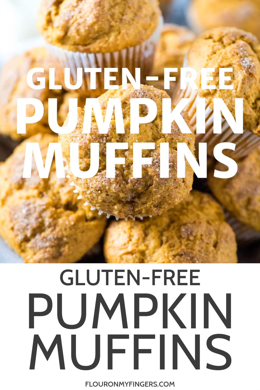 Soft and Fluffy Gluten-Free Pumpkin Muffins