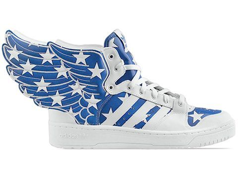 Adidas Originals X Jeremy Scott Wings 2.0 in Red White Blue at  Solestruck.com