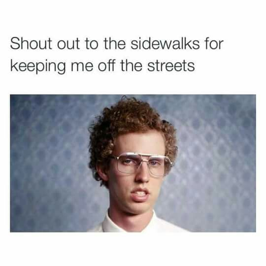 shout out to the sidewalks napoleon