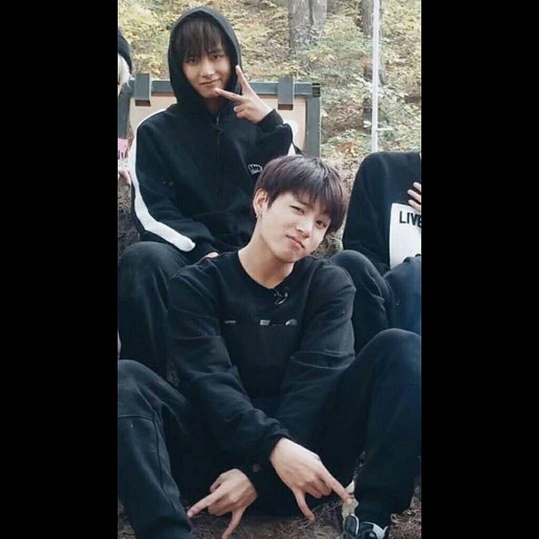 V APP] 160105 Run BTS! EP 10 -정국- #Vkook #Taekook
