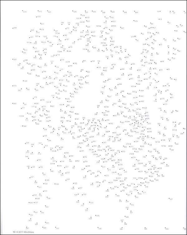 Extreme Dot To Dots Animals   Additional Photo Inside Page