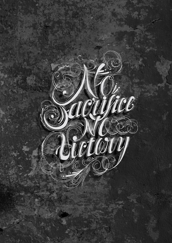 Get Here No Victory Without Sacrifice Quote