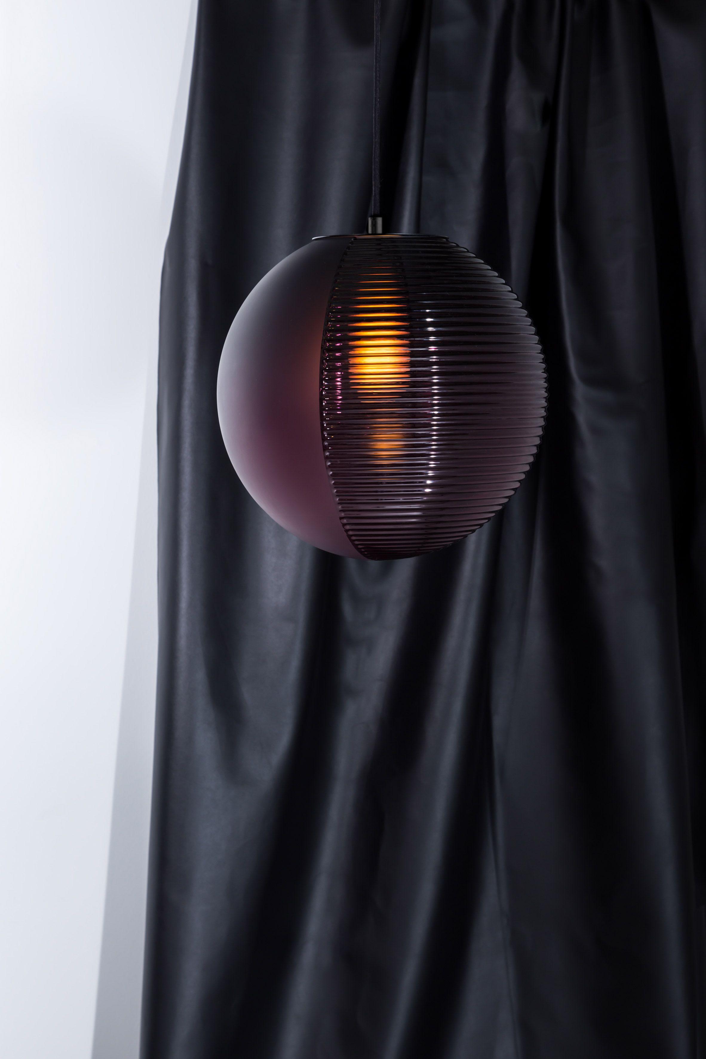 Sebastian Herkner S Stellar Lamps Fuse Two Contrasting Hemispheres Contemporary Furniture Design Lamp Lights