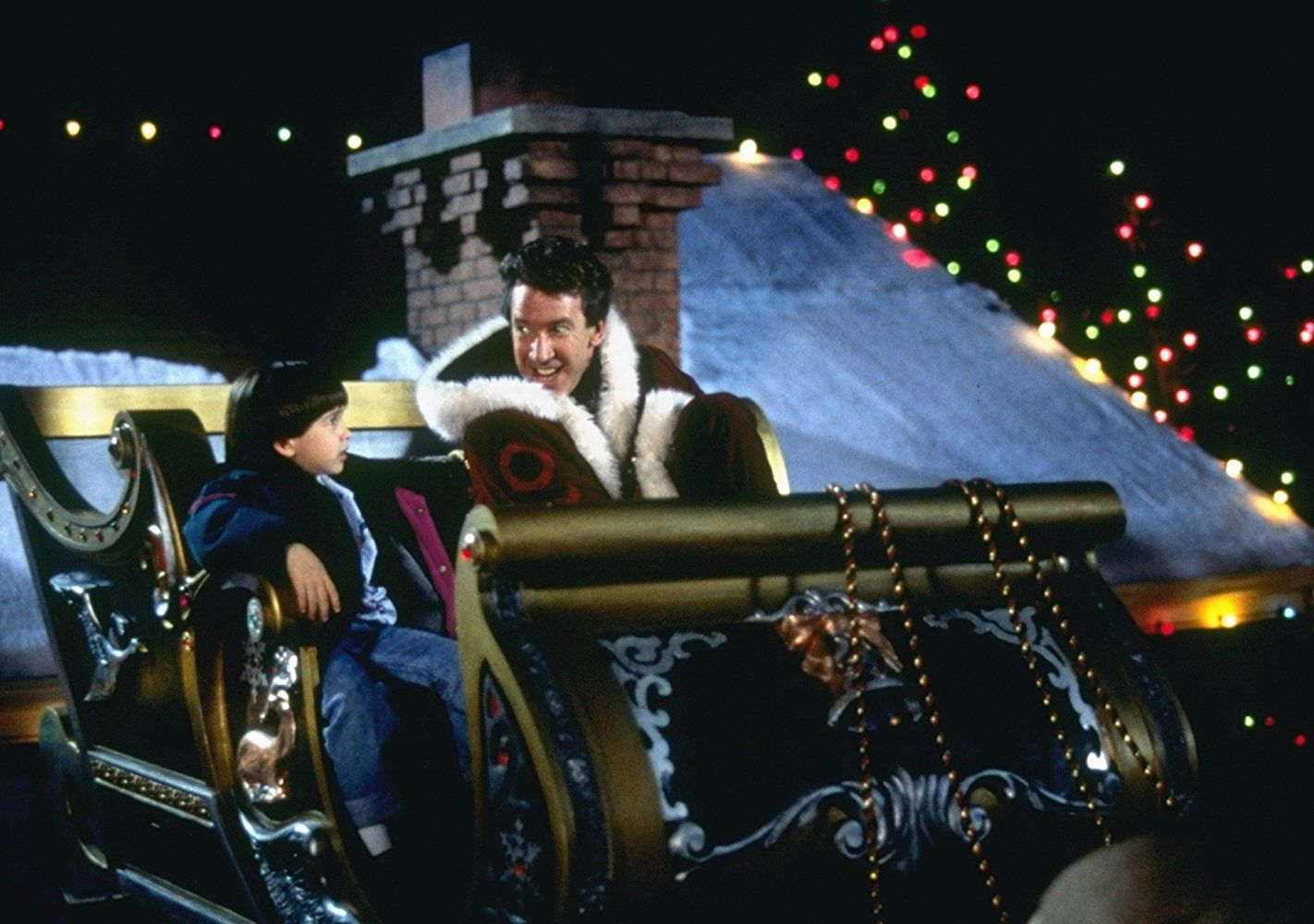 Tim Allen and Eric Lloyd in The Santa Clause (1994) Best