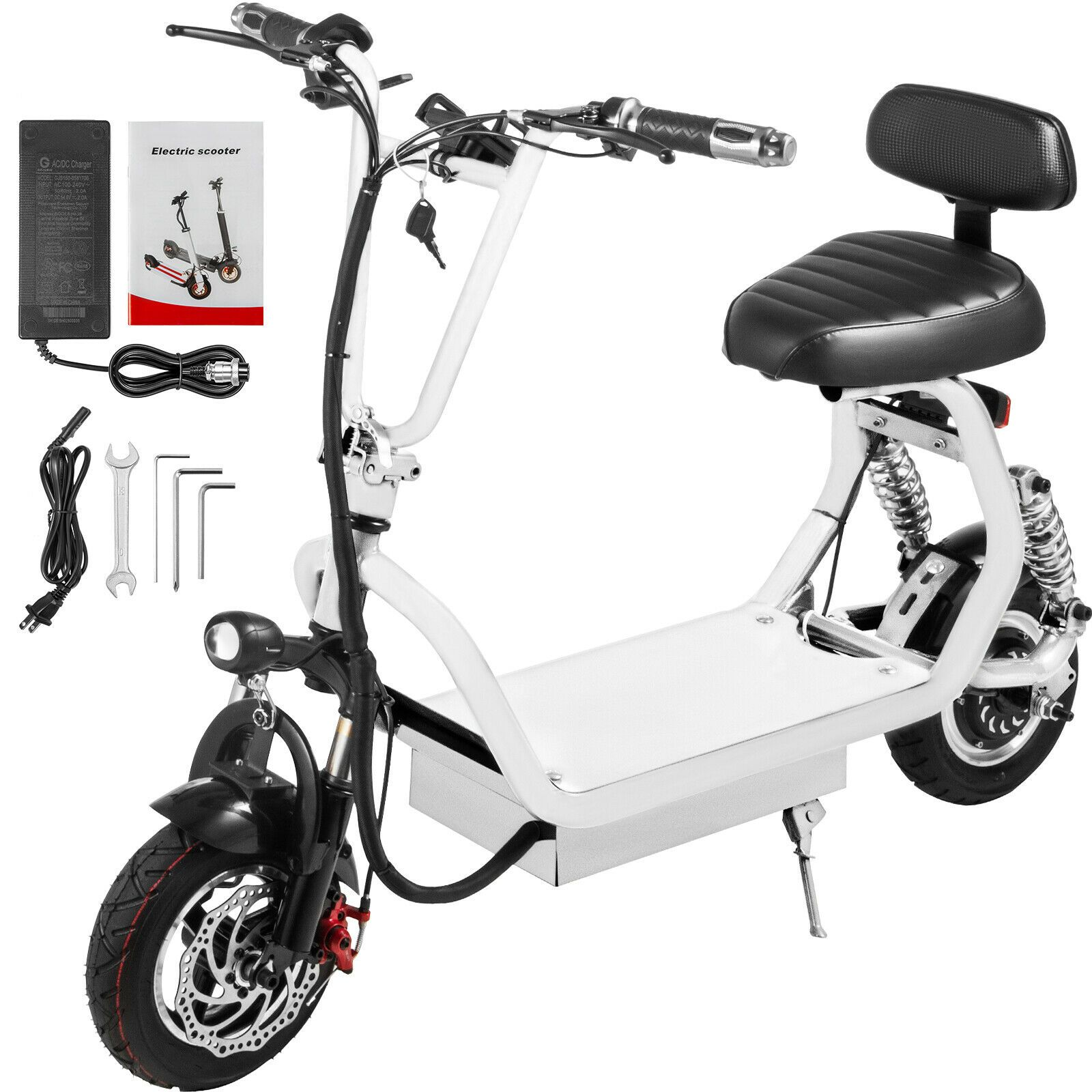 Adult Electric Scooter 400w Up To 35km H Commuter Scooter