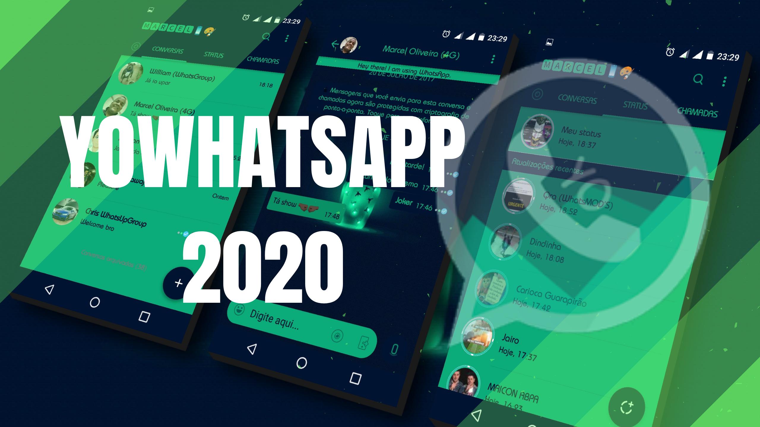YoWhatsapp 9.10 APK Download Grátis atualizado 2020 em