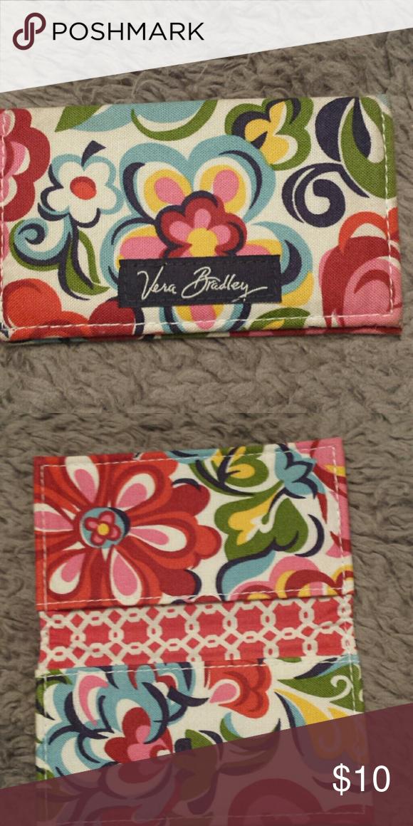 Vera Bradley Business Card Holder | Business card holders and Vera ...