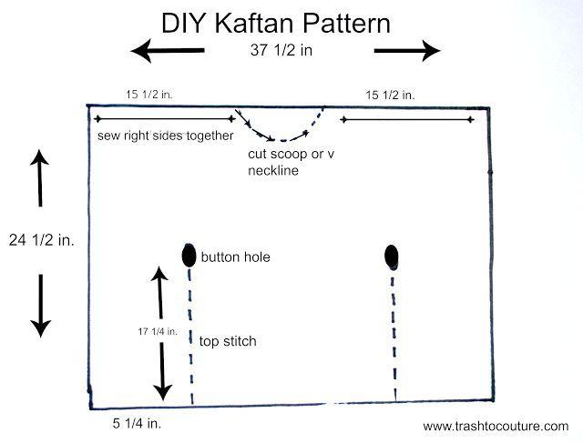 Image result for kaftan dress pattern | Kaftan | Pinterest | Dress ...