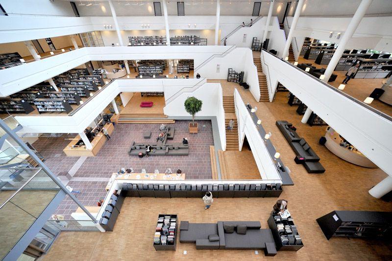 Genk Public Library Belgium