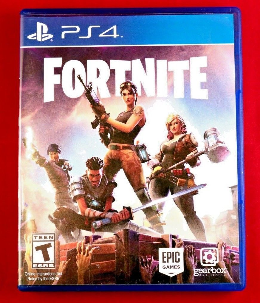 rare fortnite sony playstation 4 physical media game disc rare ps4 collectible we sell fortnite accounts and loot crates cheap at bushcampers net - disque fortnite ps3
