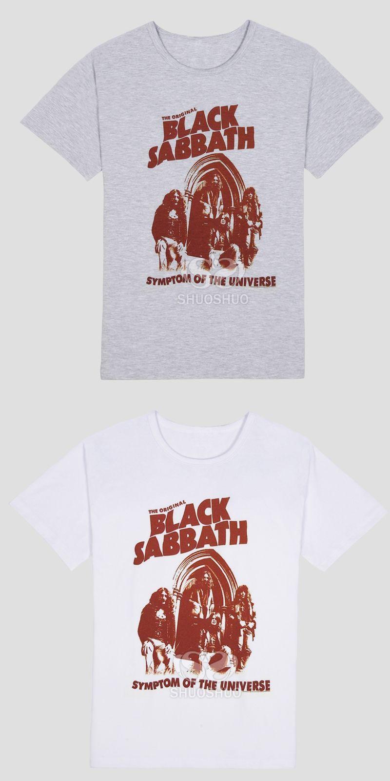 Black Sabbath Classic Heavy Metal Rock Men s T-Shirt T Shirt For Men New O c06c7a0740525