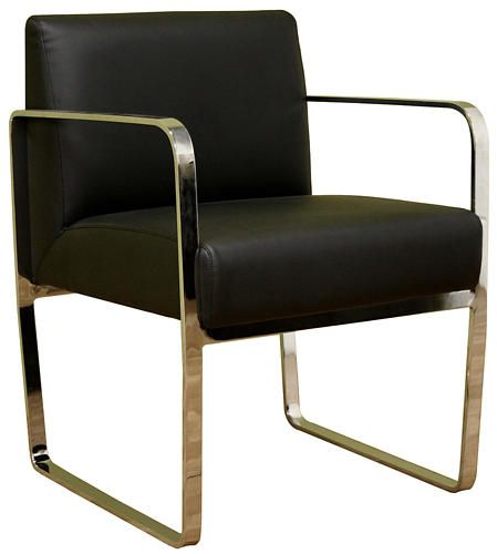 Great Meg Black Leather Chair   Art Van Furniture Awesome Design
