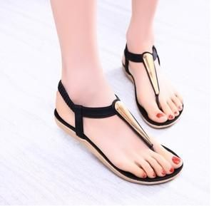 New Women Fashion Sandal Mod Flats Flip Flops