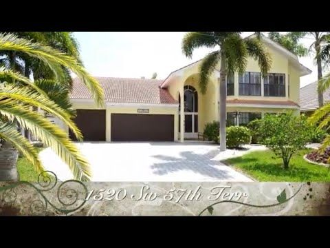 Pin On Cape Coral Waterfront Luxury Homes For Sale