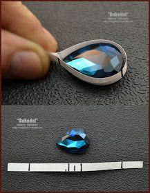 Photo of Wire wrap tutorial. Copper wire jewelry. (55)