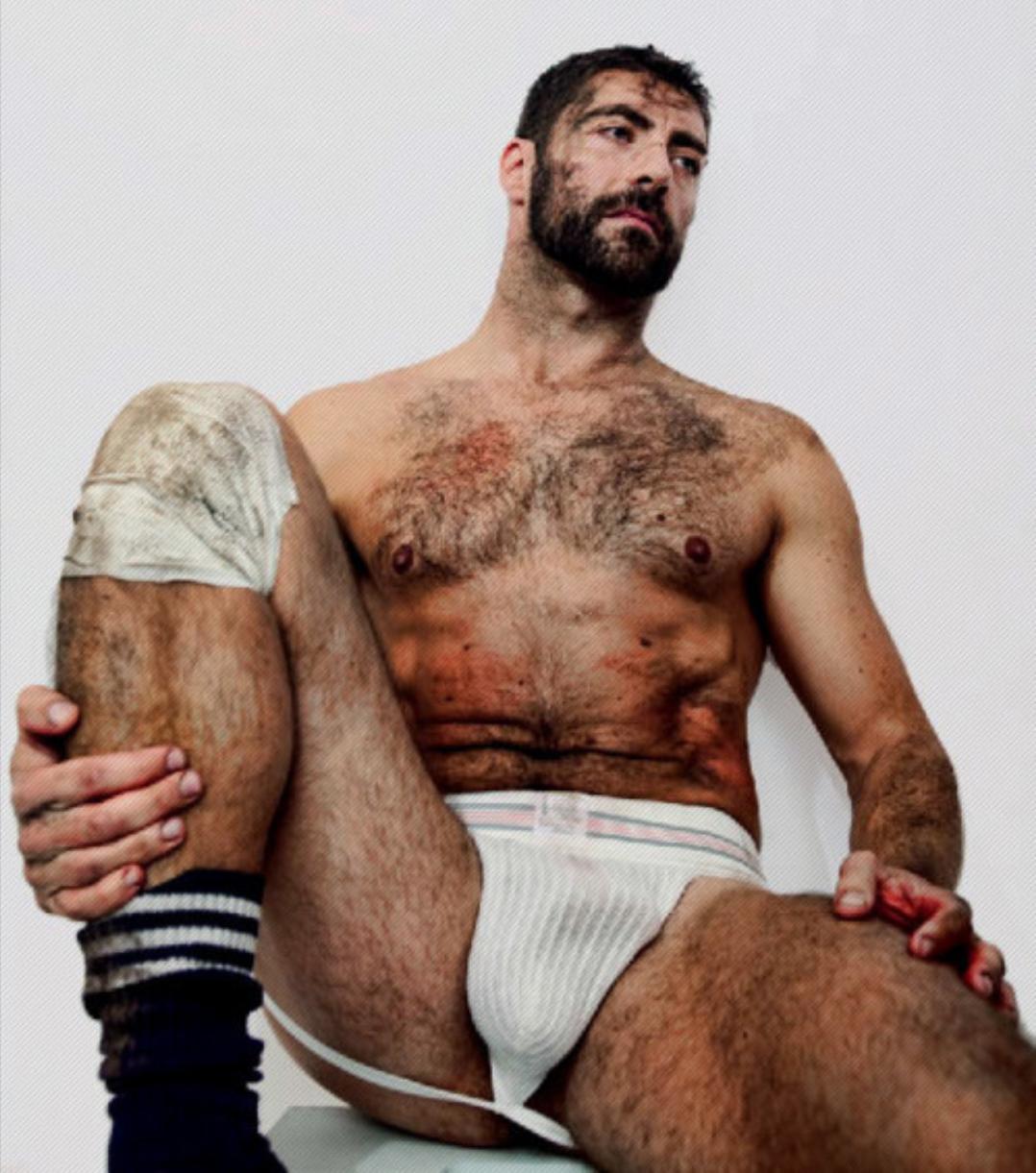 raunchy hairy nude men
