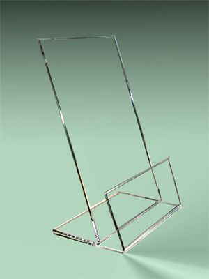 Countertop Display Stands Clear Acrylic Shirt Display Easels