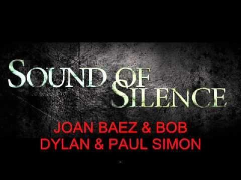 JOAN BAEZ & BOB DYLAN & PAUL SIMON - Sound Of Silence (live)