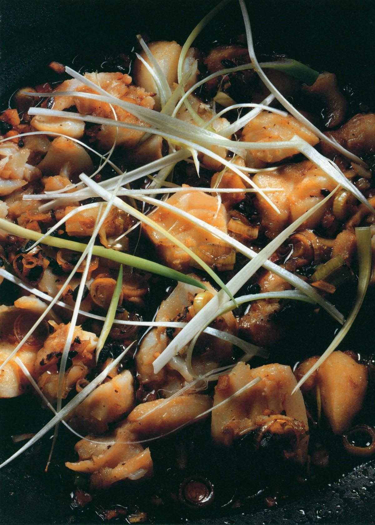 Stir Fried Fish With Black Bean Sauce From Ken Hom S Hot Wok By Ken Hom Recipe In 2020 Black Bean Sauce Fried Fish Stir Fry Fish