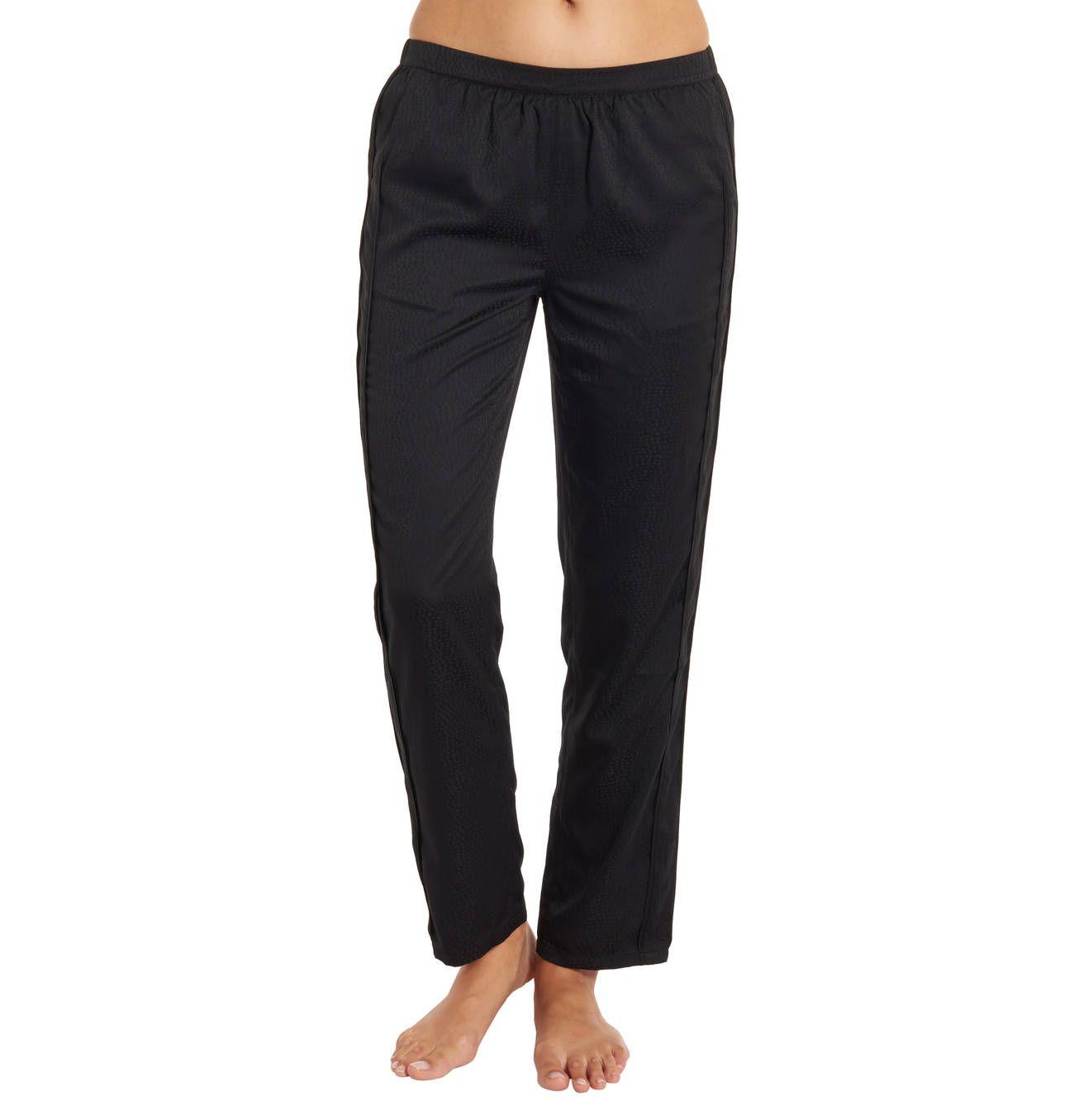 Schlafhose Eingrifftaschen Seitliche Streifen Hosen Modisch